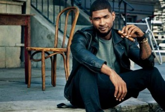Usher pour Cigar Aficionado Magazine