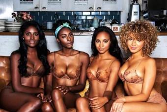Nubian skin : enfin de la lingerie couleur chair pour les femmes noires !