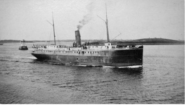Le Yarmouth, le navire de la «Black Star Line, Inc.»