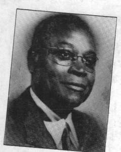 L'écrivain dahoméen Paul Hazoumé