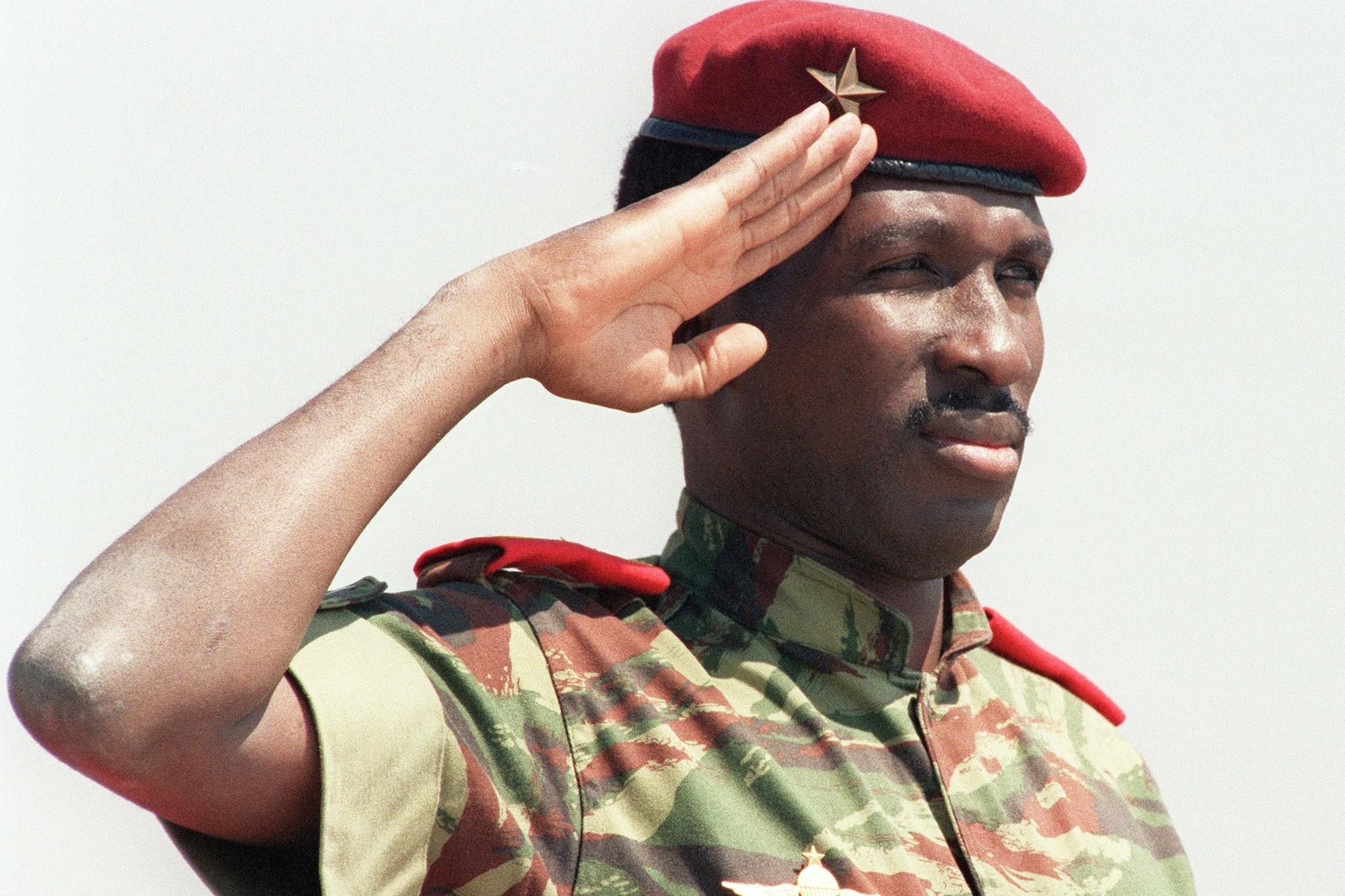 Thomas Sankara, révolutionnaire anti-impérialiste