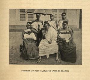 Béhanzin et sa suite en Martinique