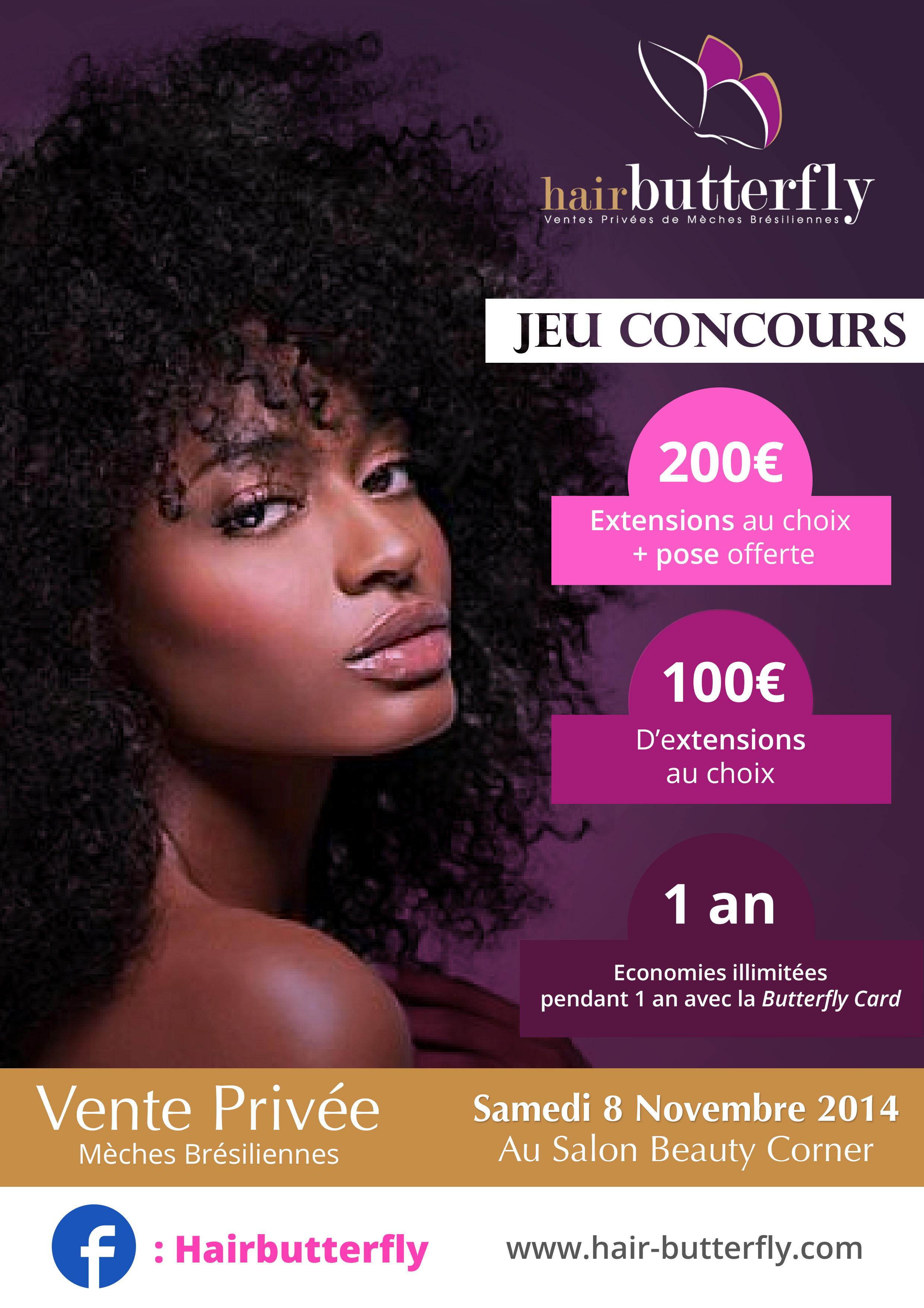 Cover Concours Hair Butterfly Portrait 1 aperçu