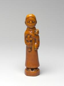 Représentation kongo de Saint Antoine, 18e siècle / metmuseum.com