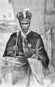 Le roi Toffa de Porto Novo