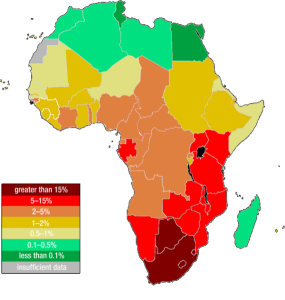 Map-of-HIV-Prevalance-in-Africa