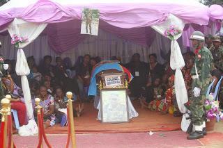 [RDC] LES OBSÈQUES DU COLONEL MAMADOU NDALA À KINSHASA