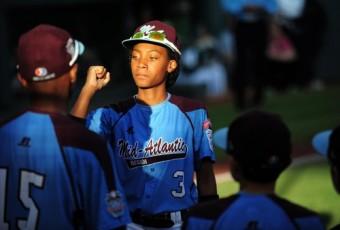 Mo'ne Davis , célébrité du baseball à seulement 13 ans