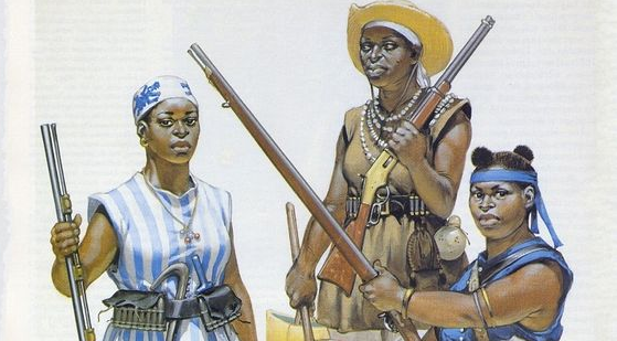 Les Amazones de Dahomey