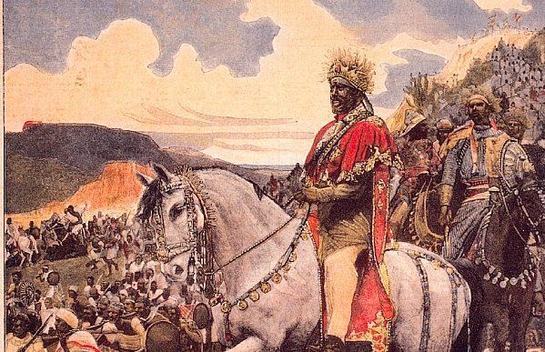 La bataille d' Adwa, ou la victoire de l'Ethiopie sur l'impérialisme italien