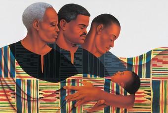 Les origines du tissu Kente d'Afrique de l'ouest