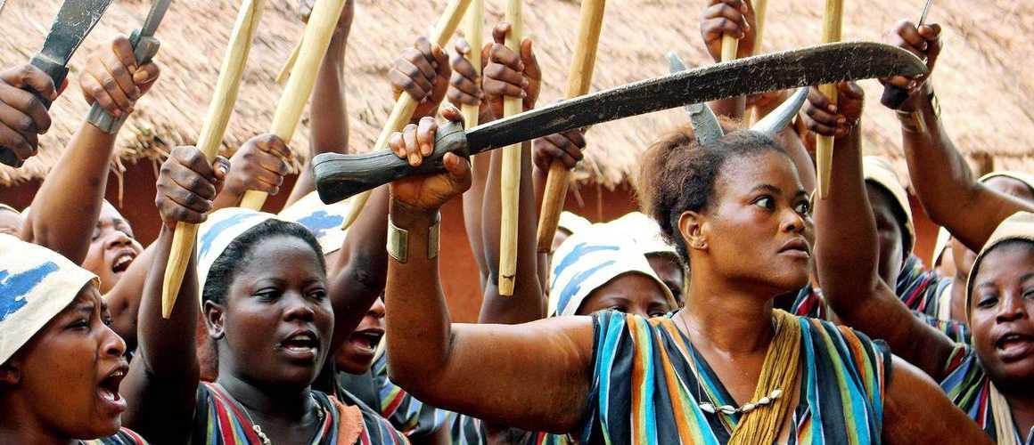 amazones de Dahomey