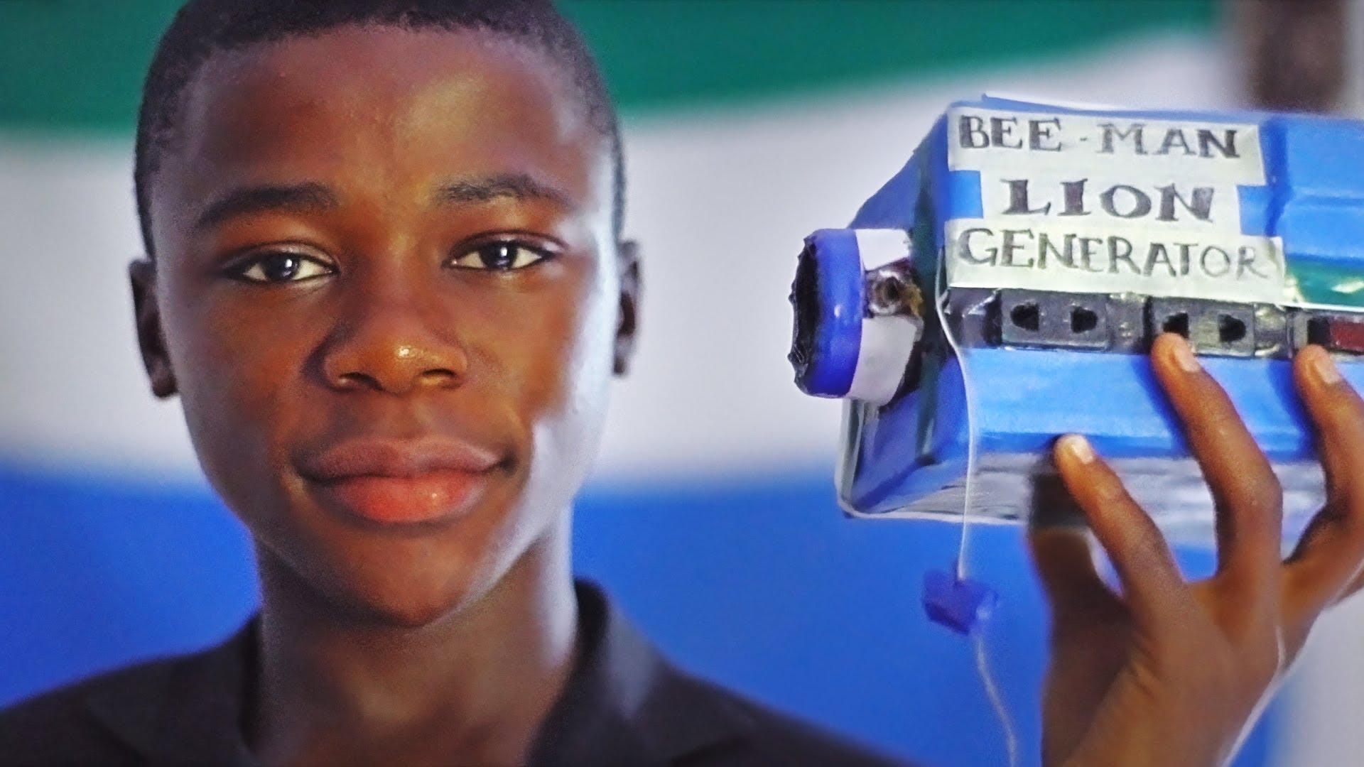 [SUCCESS STORY]  KELVIN DOE, UN PETIT PRODIGE SIERRA LEONAIS AU MIT