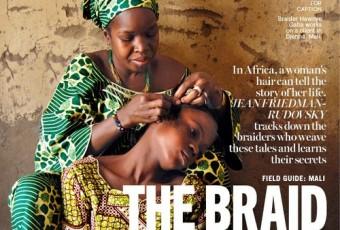 """""""The Braid Whisperers"""" l'édito capillaire par le magazine Marie Claire"""