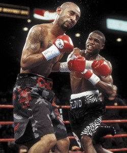 Mayweather contre Corrales, 2001