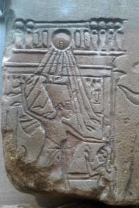 Nefertiti 'massacrant les ennemis'