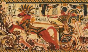 Toutankhamon en met plein le nez aux Nubio-Soudanais