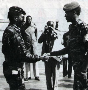 Thomas Sankara & Blaise Compaoré (photo LaikaFilms)