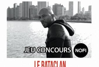 [JEU CONCOURS] Common en concert au Bataclan le 16 novembre