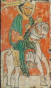 Représentation du 15ème siècle de Lalibela