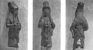 Statuette de bronze du style 'ife' retrouvée à Benin City / © William Fagg
