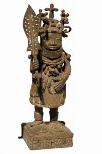 Statue moderne représentant le roi Ewuare / © Ethnologisches Museum Dahlem