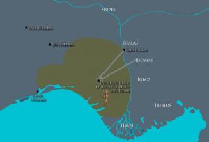 Plan de l'agression des Igala et Idoma contre Benin sous Esigie / © Sandro CAPO CHICHI pour nofi.fr