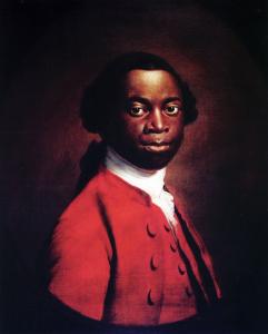 Portrait d'Olaudah Equiano