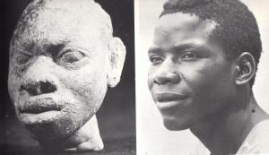 Comparaisons entre portraits de l'art yoruba d' Ife et des Nigérians  modernes : elles montrent la vocation réaliste de cet art/ © Frank Willett