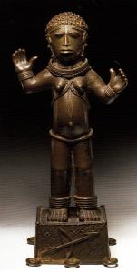 Statuette edo représentant Esu / © Paula Ben Amos