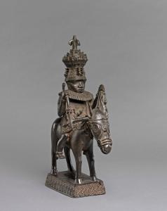 Statue en bronze représentant peut-être le Prince Oranmiyan (D'après Paula Ben Amos) / © The Trustees of the British Museum