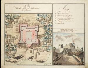 Le fort Saint Sébastien de Chama