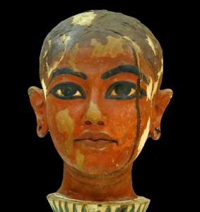 Tête du jeune TOUTANKHATON, unique fils d'Akhénaton par Jean-Pierre Dalbéra
