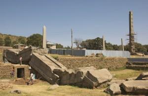 Stèle de l'ancien empire d'Axoum