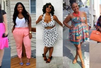 Les tutos de la semaine #4 : leçons de style par 5 blogueuses rondes