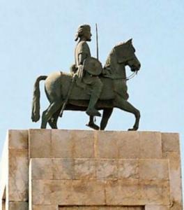 Statue d'Ahmed Gran à Mogadishu
