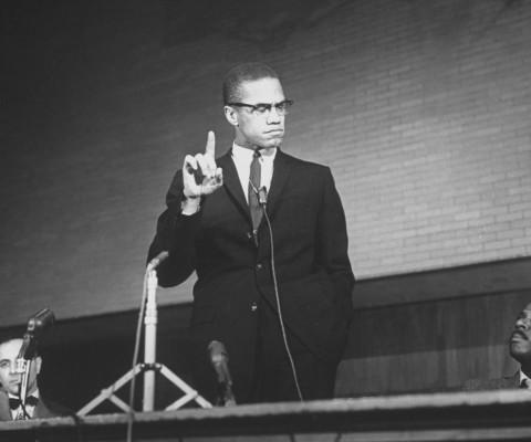 Chris rock le premier pr sident noir des etats unis for Malcolm x fenetre