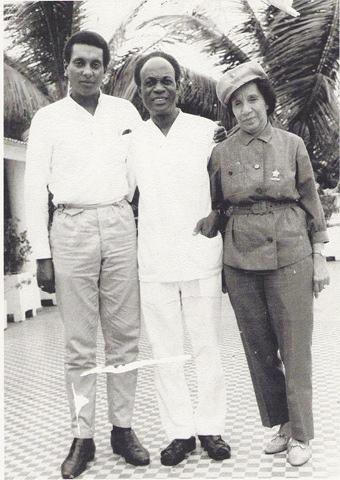 Carmichael, Nkrumah et Shirley Graham DuBois