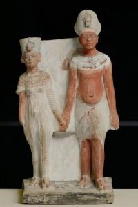 Akhénaton et Nefertiti