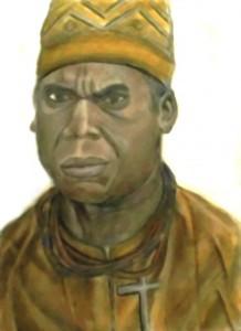 Afonso I de Kongo par Sandro CAPO CHICHI