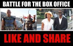 Bataille pour le box office : 'aimez et partagez' par la page Facebook 'Thorne Studios'