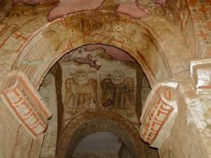 Fresques de l'église d Genata Mariam, Photo http://patenvadrouille.over-blog.com/