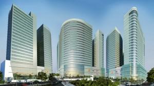 Des buildings à Luanda