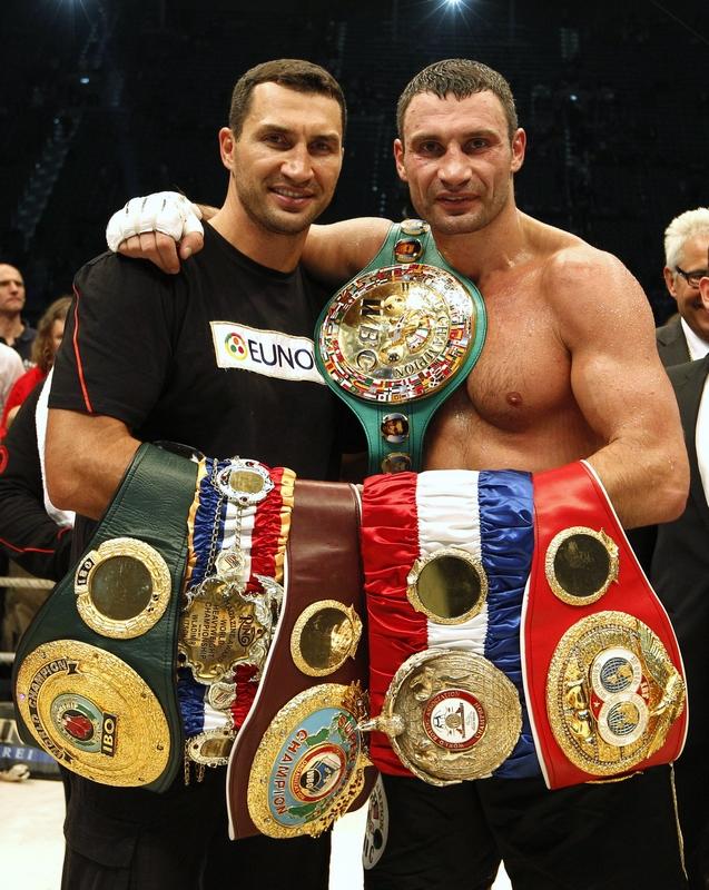 Wladimir Klitschko et son frère Vitali se sont partagés  le titre de champion du monde des poids lourds depuis une décennie