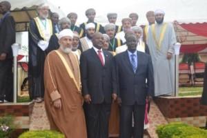 Réunion officielle autour de l'Islam dans l'Afrique des Grands Lacs au Burundi, il y a quelques jours ; on y vantait l'absence de terrorisme religieux au Burundi (Photo : ppbdi.com)