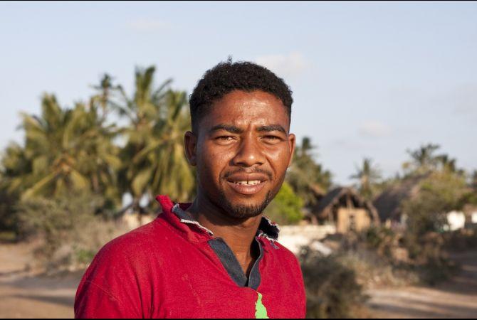 Mohamad Sharifu, un habitant de l'île de Lamu qui serait un descendant de marins chinois et de femmes noires indigènes