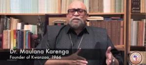 Maulana Karenga, fondateur de Kwanzaa en 1966