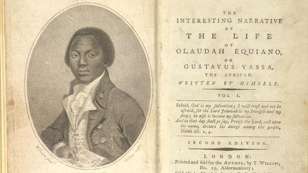 Une édition anglaise de l'autobiographie d'Equiano