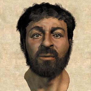 Reconstitution du visage de Jésus Christ par l'artiste médical Richard Neave (2002)