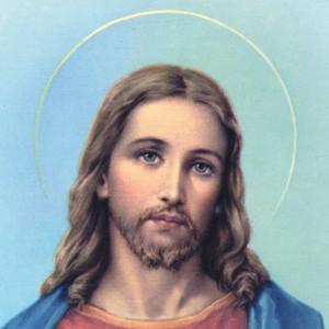Un Jésus blond aux yeux bleus